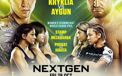 ONE Championship Announces Full Card for ONE: NEXTGEN on 29 October