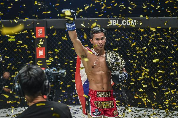 Superbon Captures Inaugural ONE Featherweight Kickboxing World Title With Shocking KO Of Giorgio Petrosyan